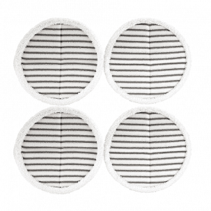 SpinWave scrubby mop pads x4