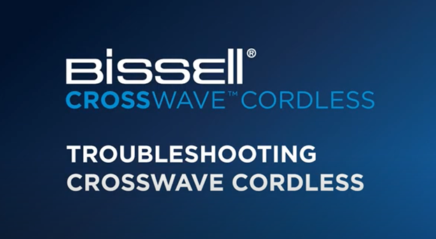 What to do when your CrossWave Cordless is leaking or leaving streaks