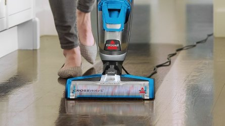 Introducing the BISSELL CrossWave™ multi-surface cleaner
