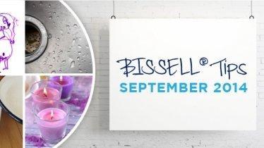 BISSELL tips: September 2014